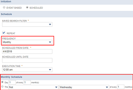 Setup workflows in NetSuite