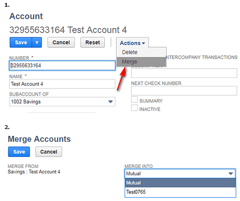 Creation of Chart of Accounts in NetSuite